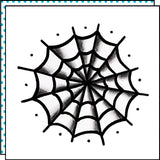 spider web temporary tattoo