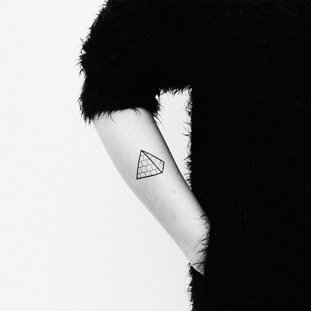 Tattoonie Temporary Tattoos pyramid