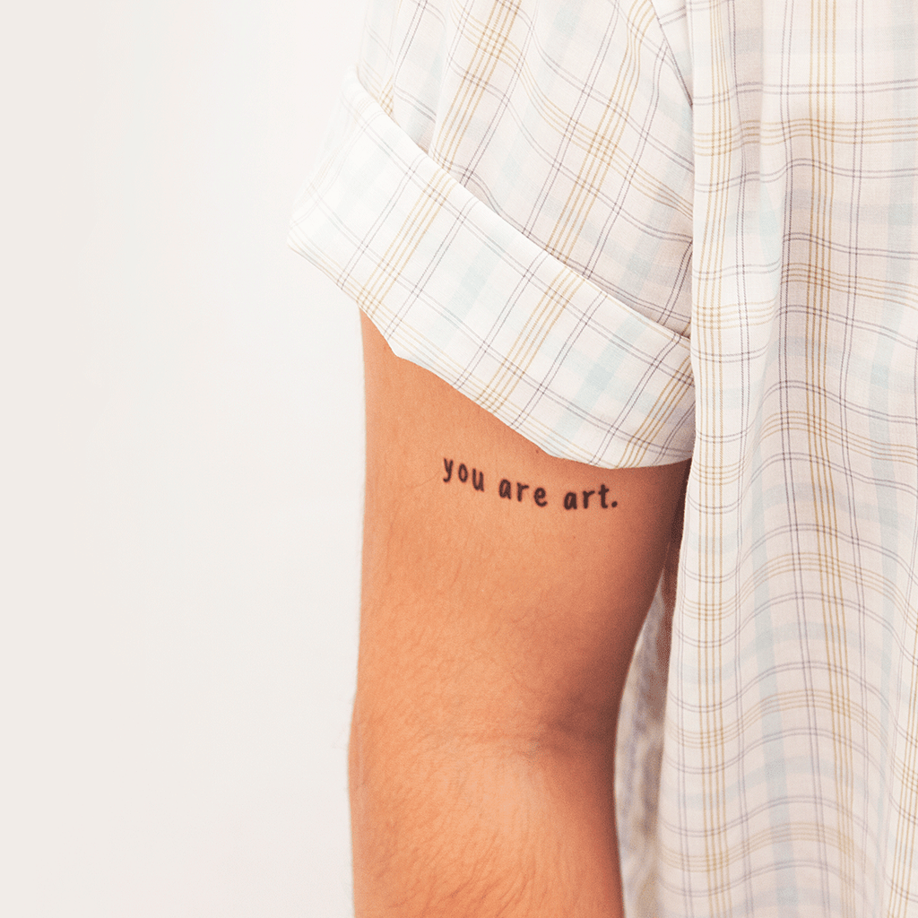 tattoonie temporary tattoos you are art