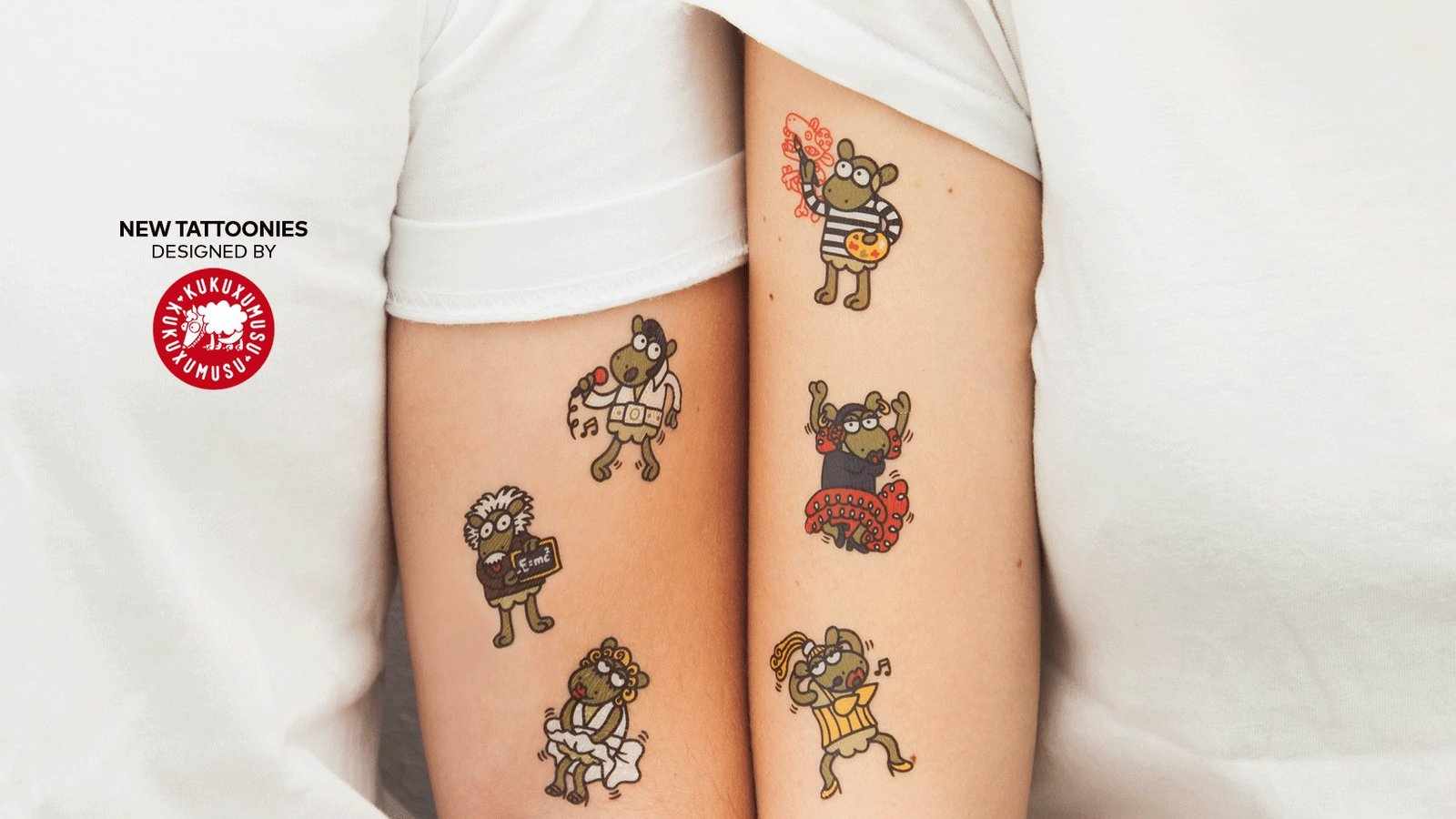 loro tattoonie temporary tattoos