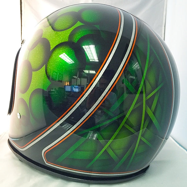 Bell Moto 3 - Candy Green Bubbles