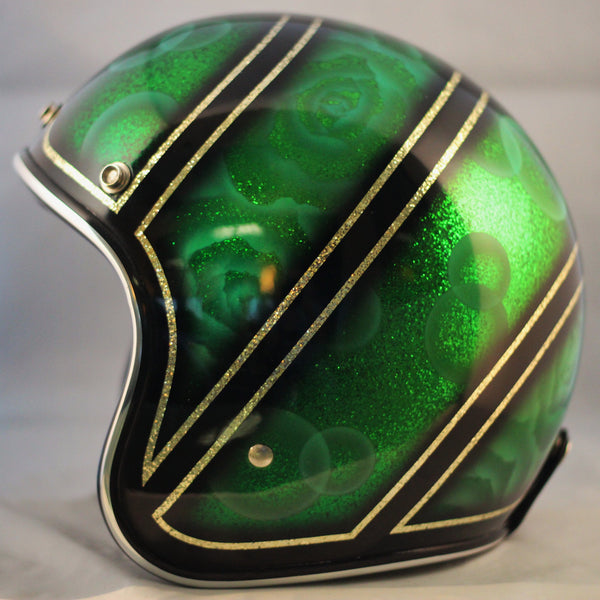 Green Candy w Black & Gold
