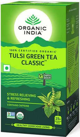 Tulsi Green Tea Bio 25 bustine