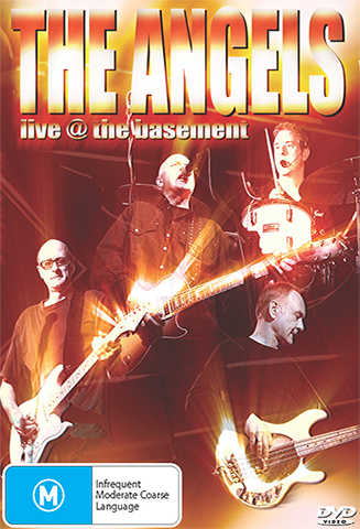 """Live At The Basement"" - The Angels  - DVD"