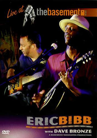 """Live at The Basement"" - Eric Bibb - NTSC DVD"