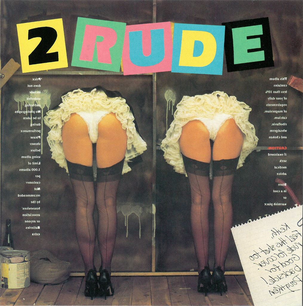 "Doug Mulray ""2 Rude"" - CD"