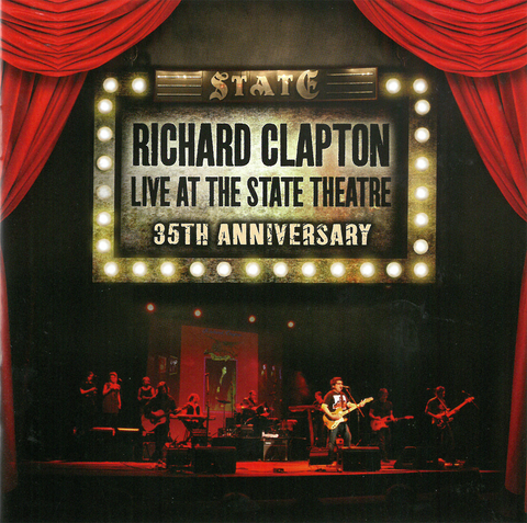 "Richard Clapton - 35th Anniversary ""Live at the State Theatre"" - CD"