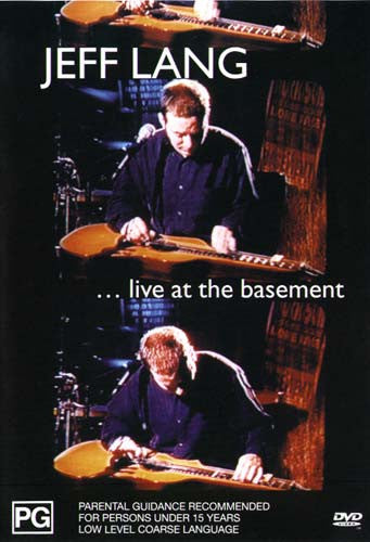 """Live At The Basement"" - Jeff Lang - DVD"