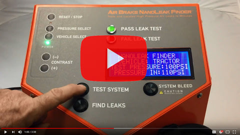 Air Brake NanoLeak Finder YouTube