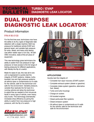 Technical Bulletin - Dual Leak Detector