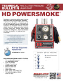 HD PowerSmoke Tech Bulletin Flyer