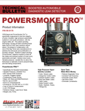 PowerSmoke PRO Tech Bulletin