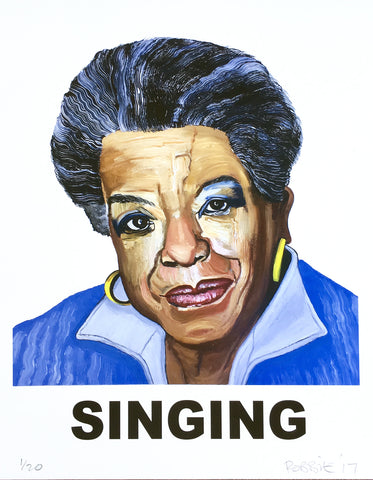 """Singing"" (Maya Angelou)"