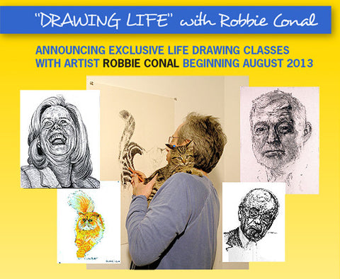 DRAWING LIFE with ROBBIE CONAL