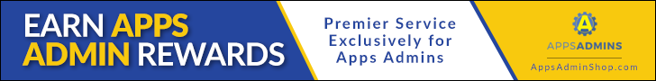 experience premier service - exclusively for Apps Admins