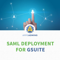 SAML Deployment for G Suite (One Time fee)