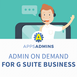 Apps Admin on Demand for G Suite Business