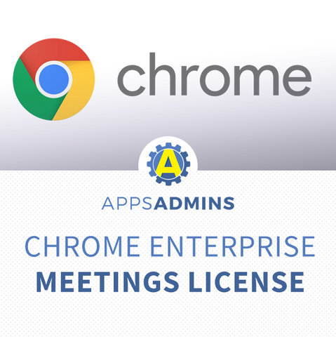 Chrome device management license for Meetings