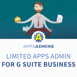 Limited Admin Tasks for G Suite