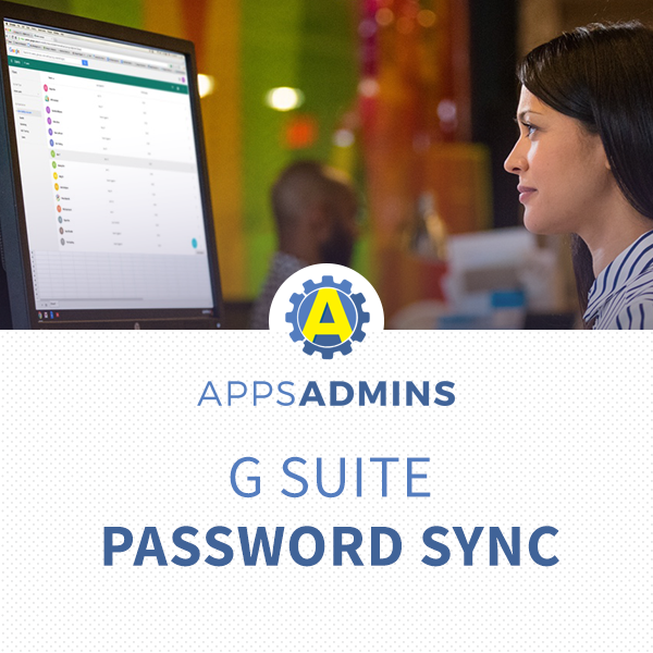 Setup Windows Password Sync for G Suite