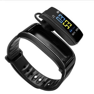 Montre-bracelet Bluetooth 2 en 1