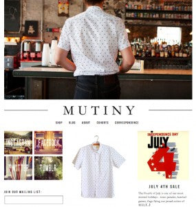 a fresh view at MUTINY DC
