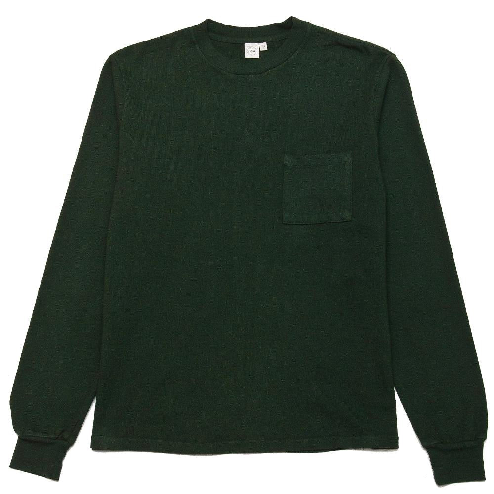 PAA DEEP FOREST LS POCKET TEE