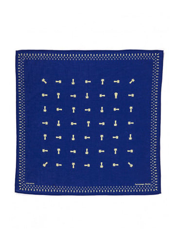 UNIVERSAL WORKS ROYAL BLUE NECKERCHIEF