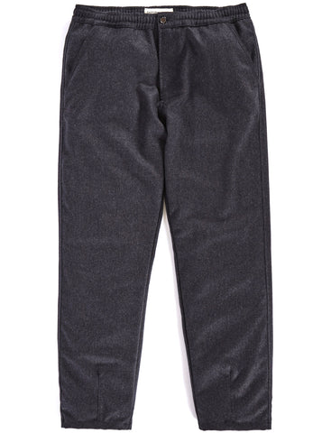 UNIVERSAL WORKS CHARCOAL MARL TRACK TROUSER