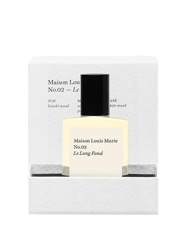 MAISON LOUIS MARIE PERFUME OIL NO. 02 LE LONG FOND