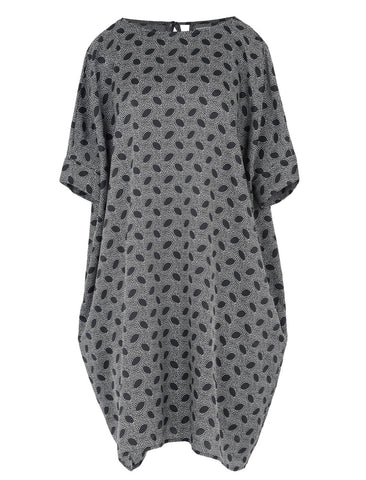 YMC YMC BLACK WHITE MARY DRESS - M U T I N Y