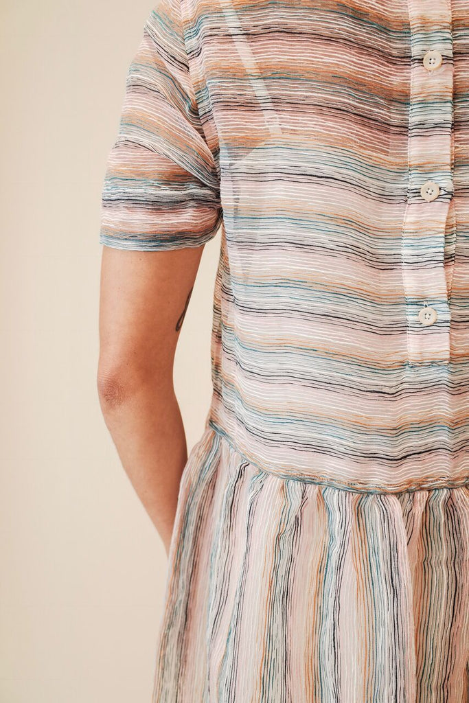 YMC PERHACS STRIPE DRESS