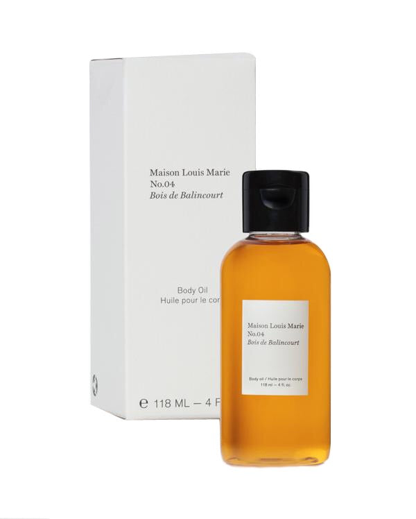 MAISON LOUIS MARIE BODY OIL NO. 04 BOIS DE BALINCOURT