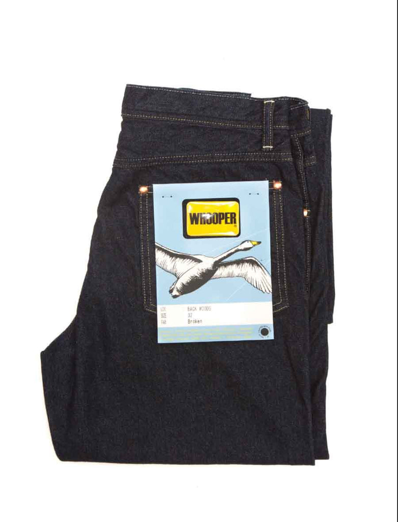 WHOOPER JEANS BACKWOODS DENIM
