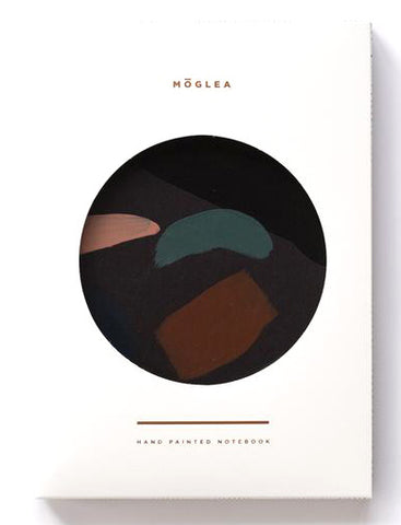 MOGLEA PAINTED NOTEBOOK MOONLIGHT