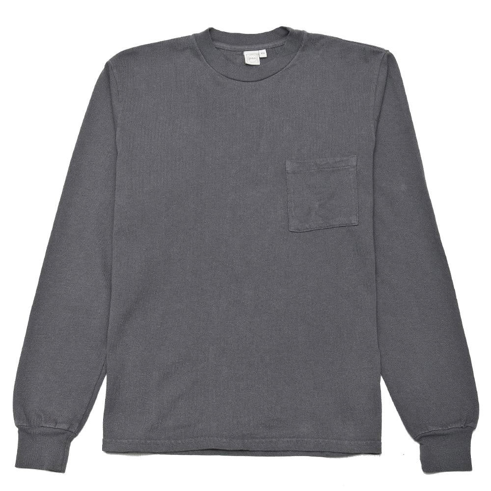 PAA SMOKE GREY LS POCKET TEE