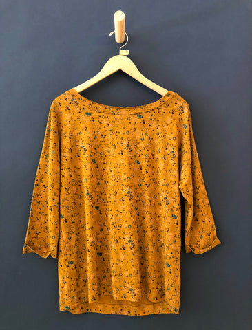 SESSUN GOLD BLOOM DEVON T-SHIRT