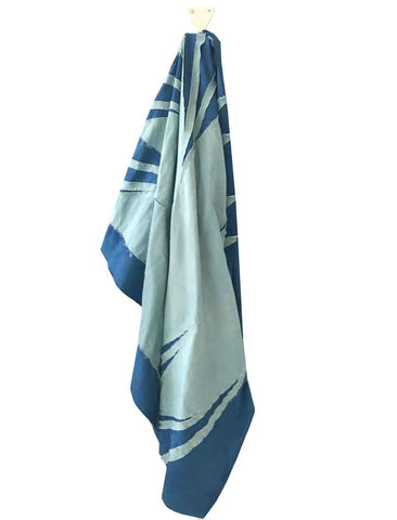 WOL HIDE WOL HIDE INDIGO QUILTED THROW - M U T I N Y