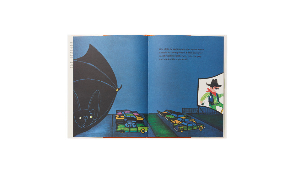 PHAIDON RUFUS: THE BAT WHO LOVED COLORS - M U T I N Y