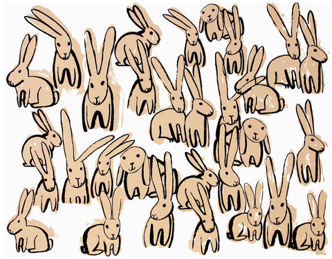 PEOPLE I'VE LOVED PEOPLE I'VE LOVED BUNNIES PRINT - M U T I N Y
