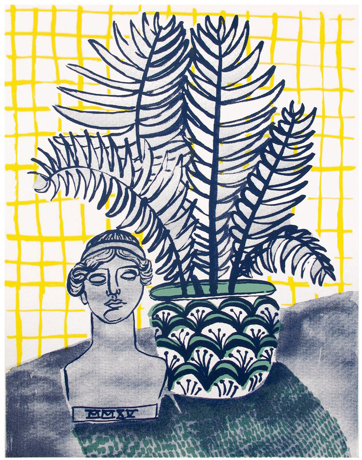 PEOPLE I'VE LOVED PEOPLE I'VE LOVED A LADY AND A FERN PRINT - M U T I N Y