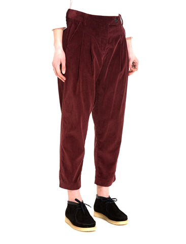 YMC CORDUROY PEG TROUSERS