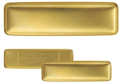 TRAVELER'S COMPANY TRAVELER'S COMPANY BRASS PENCIL CASE - M U T I N Y