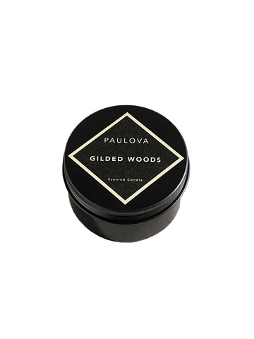 PAULOVA GILDED WOODS TRAVEL CANDLE