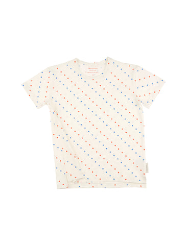 TINYCOTTONS TINYCOTTONS OFF-WHITE BONHEUR TEE - M U T I N Y