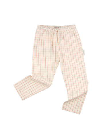 TINYCOTTONS GRID WV PANT