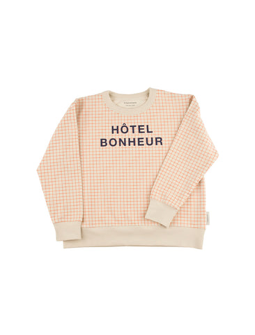 TINYCOTTONS TINYCOTTONS HOTEL BONHEUR GRAPHIC FT SWEATSHIRT - M U T I N Y