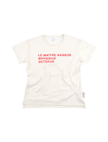 TINYCOTTONS TINYCOTTONS LE MAITRE NAGEUR SS RELAXED GRAPHIC TEE - M U T I N Y