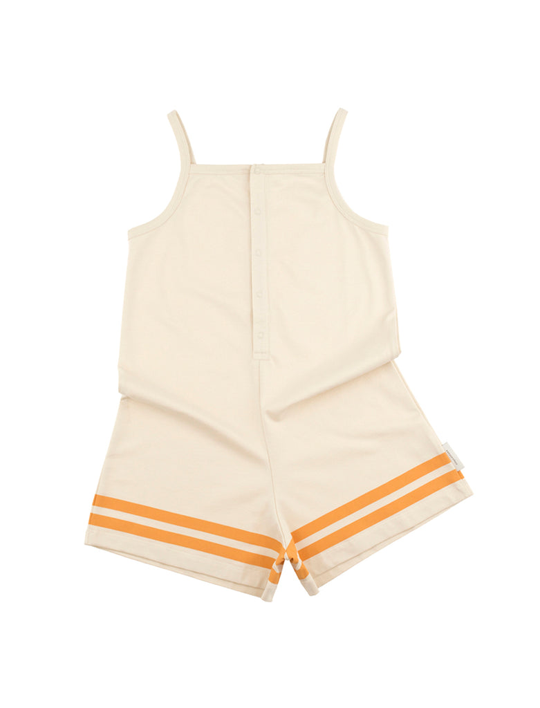 TINYCOTTONS TINYCOTTONS LINES PIQUE SHORT ONEPIECE - M U T I N Y
