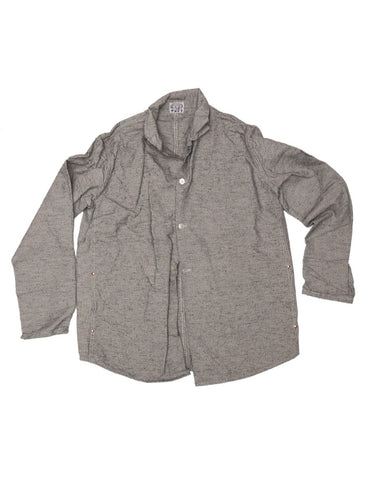 Tender TENDER CO. INDIGO BICOLORE CANVAS DOUBLE FRONT BUTTERFLY JACKET - M U T I N Y